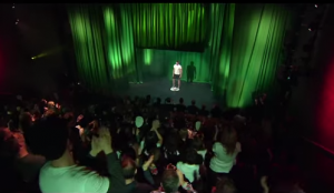 Heineken stage fright