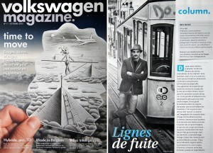 Ben Heine in Volkswagen Magazine - VW Mag (October 2013 - Belgium)